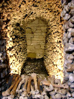 Melnik bone chapel, 30km north of Prague