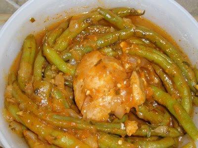 Greek Green Beans In Tomato Sauce (Fasolakia) Recipes — Dishmaps