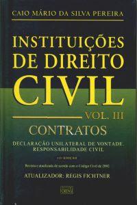 Instituições de Direito Civil: Contratos