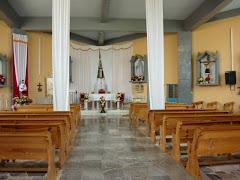 interior de la iglesia principal