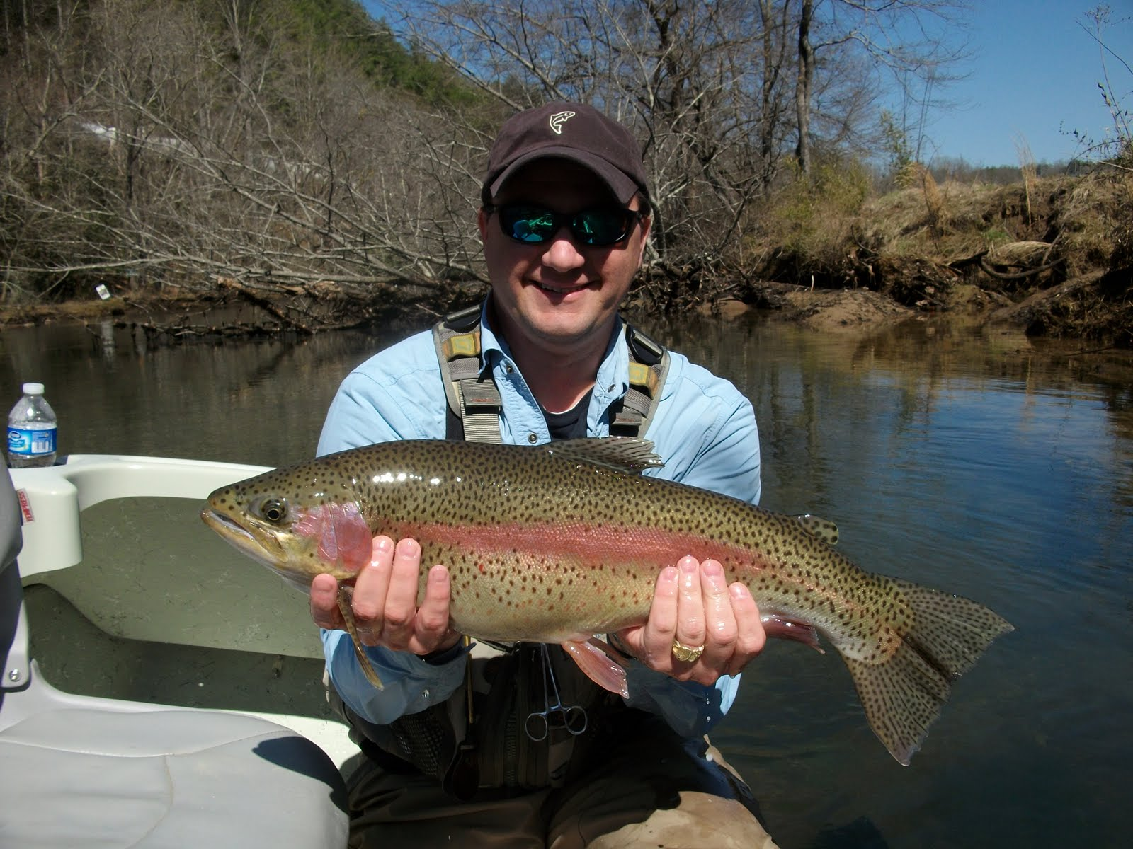 Fly toccoa tailwater update for Toccoa river fishing