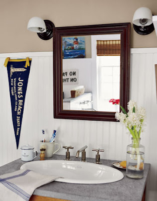 In the good old summertime for Country living bathroom designs
