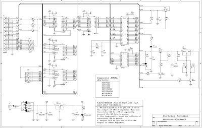 CIRCUIT DIAGRAM FOR ATMEL 89C51AT 89C2051 89CXX