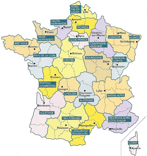 Les régions