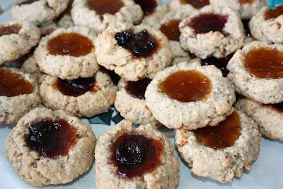 Life-Changing Vegan Thumbprint Cookies