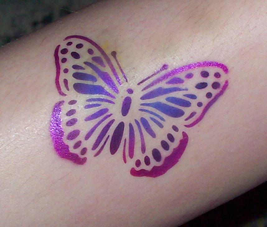 pink tattoo. pink tattoo.