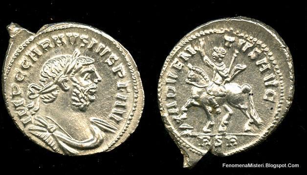 Koin Kuno Dalam Harta Karun Bergambar Jenderal Romawi Yang Pernah Menduduki Inggris