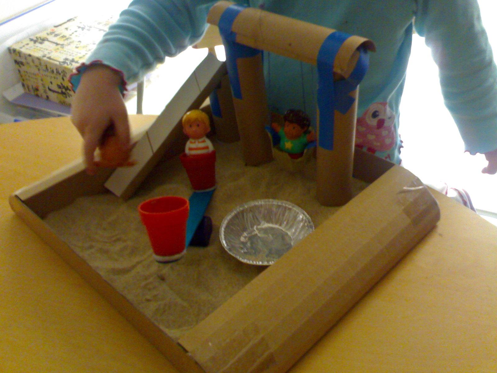 Как сделать игровую площадку для кукол