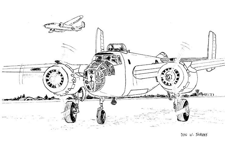 B-25 Taxiing