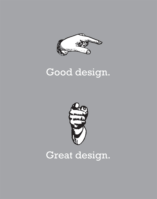 ☛ Good Design…