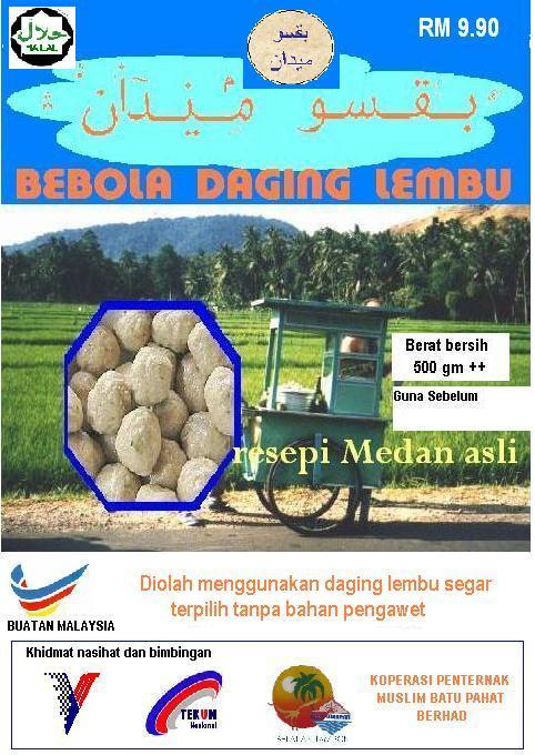 BAKSO MEDAN BUATAN MALAYSIA