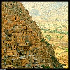 Palangan village en Kurdistan