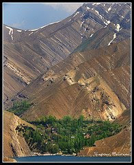Varian village au nord d'Iran