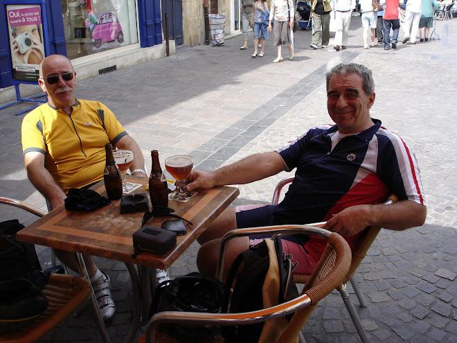 le 15 juillet, une verre d'EPO après 106 km de vélo...