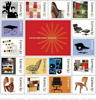 Charles and Ray Eames USPS Stamps