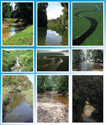 Keindahan sungai di Negara Kita