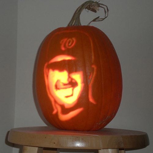 Nationals news network off the field pumpkin