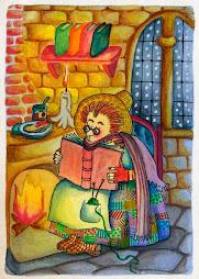 Ilustración de Natalí