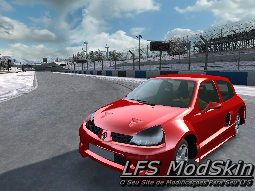 XF - Renault Clio V6 LFS ModSkin.
