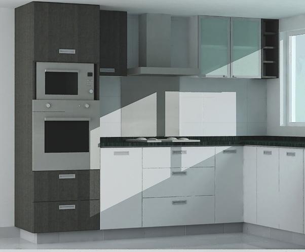 Muebles acosta cocina for Crea tu cocina en 3d