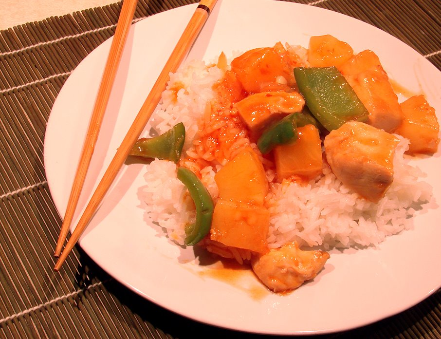 [Sweet-and-Sour-Chicken]
