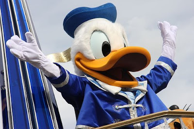 Donald Duck Walt Disney Word Resort
