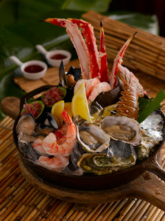 Seafood Platter at the Ritz-Carlton Cancun