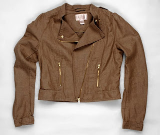 h&amp;m garden collection motorcycle jacket