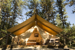 Paws Up Luxury Camping in Montana