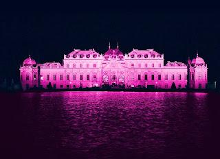 Belvedere Castle Vienna Pink