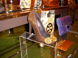 tory burch sequined shoes