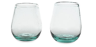 windshield wine glasses