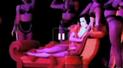 Dita Von Teese Crazy Horse Video