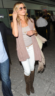 Jennifer Aniston at the airport