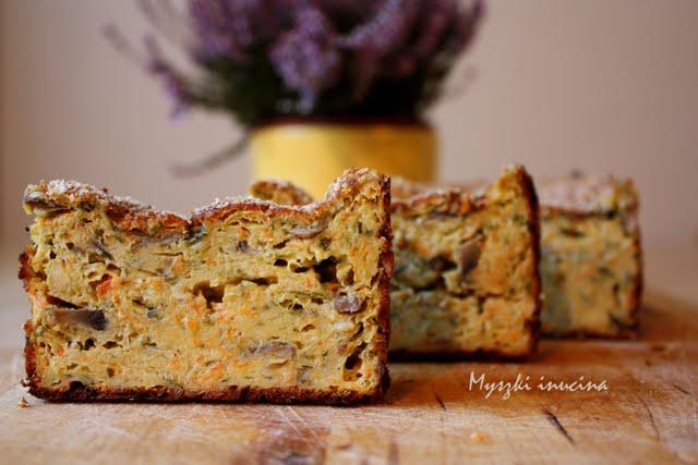 Myszki in cucina: polpettone vegetariano pieczeń wegetariańska
