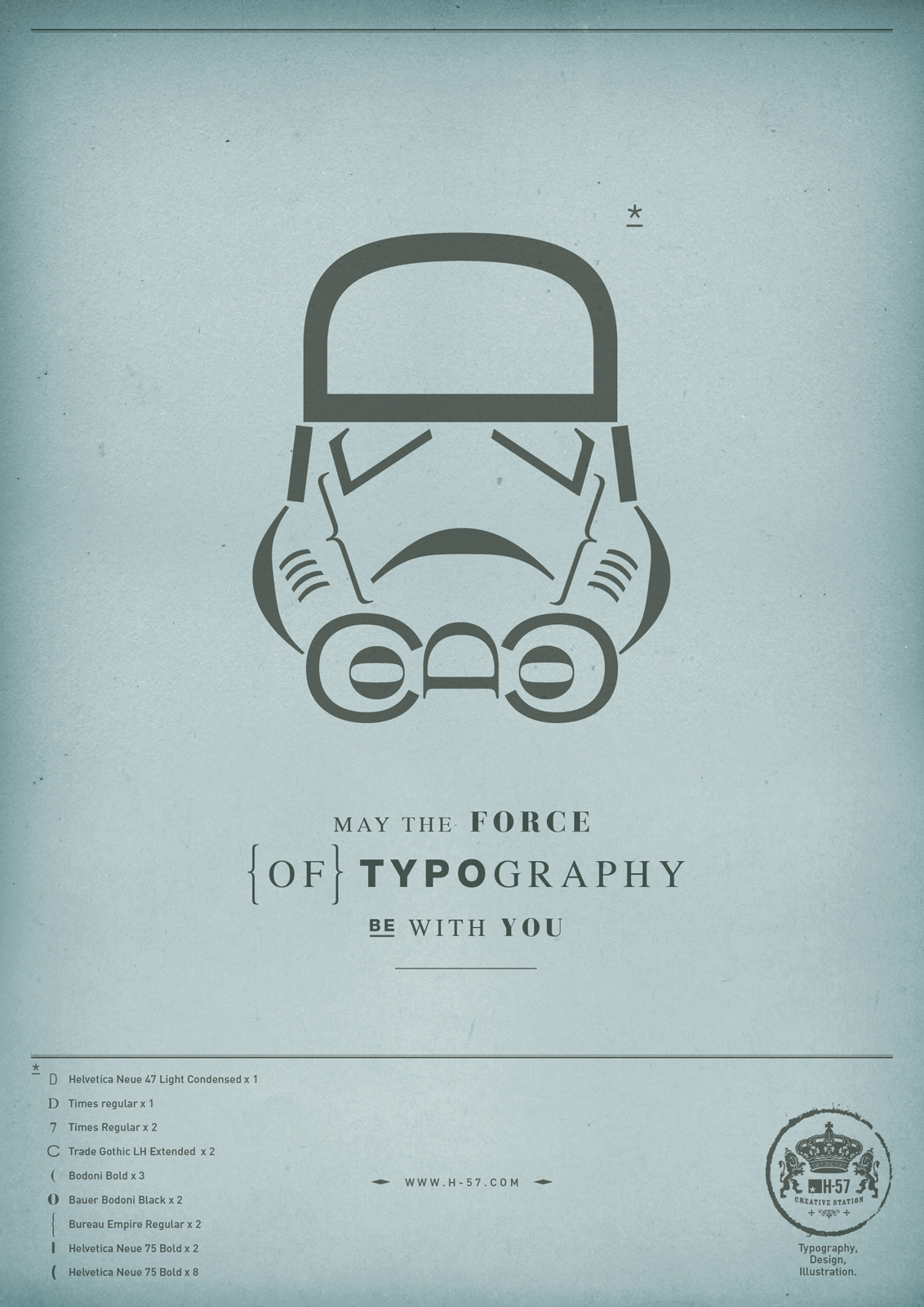 kiss my black ads may the force of typography be with you
