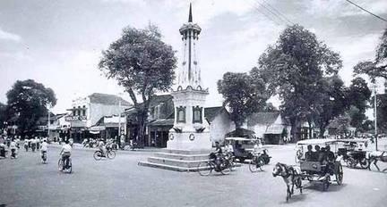 Tugu Jogja tahun 1928
