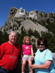 At Mt Rushmore with Grammy and Dr. K