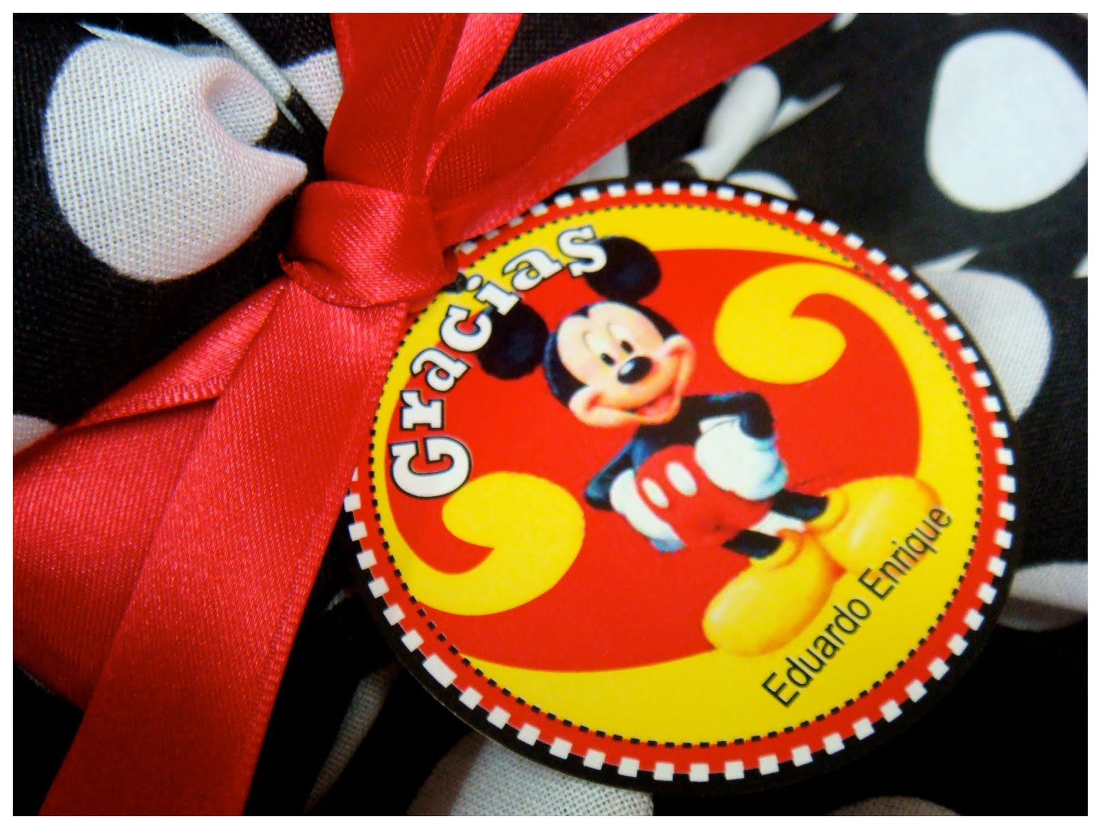 COTILLON Minnie & Mickey Mouse!