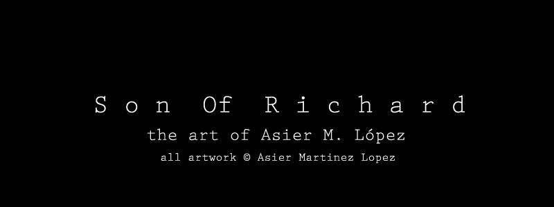 Son Of Richard  Illustration__The Art Of Asier Martínez López