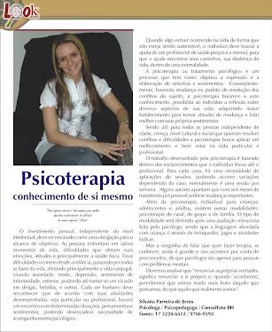 Revista Look - Matéria Psicoterapia