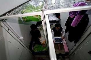 microapartamento Apartamentos de 2 m. cuadrados en Pekín