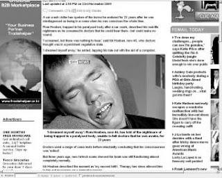 Daily+Mail 23 años pensando que estaba en coma y era consciente