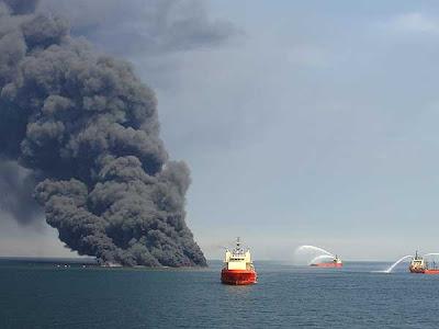 fin Fotos del desastre en el Golfo de México