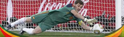 casillas holanda España campeona del Mundo de fútbol