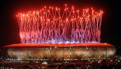 estadio+fuegos 10 fotos sorprendentes del Mundial de Sudáfrica