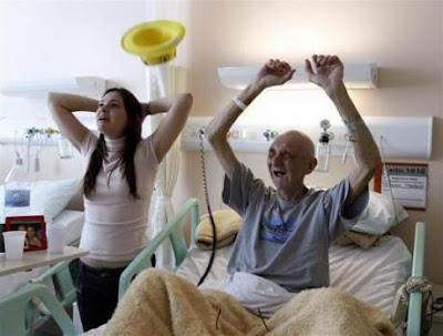 enfermo+hospital 10 fotos sorprendentes del Mundial de Sudáfrica