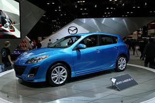 The 2010 Mazda 3 DESIGN concept
