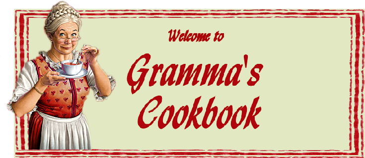 Grammas cookbook