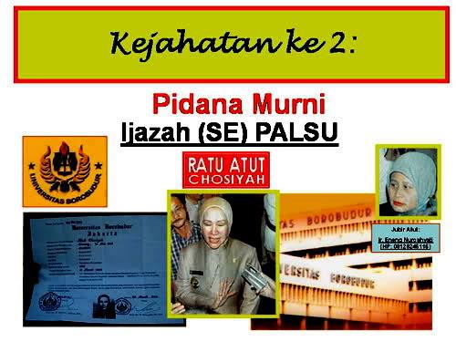 Koruptor Laknat Ratu Atut Chosiyah